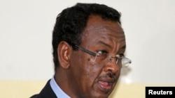 索马里总理阿卜迪•法拉赫•谢尔顿(资料照片)