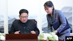 Kuzey Kore Lideri Kim Jong Un ve kızkardeşi Kim Yo Jong