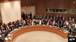 Hội đồng Bảo an thảo luận tình hình Syria tại trụ sở Liên hiệp quốc (ảnh tư liệu ngày 31 tháng 1, 2012)
