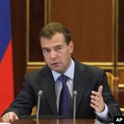 Russian President Dmitri Medvedev (file)