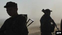 Qirg'iziston askarlari