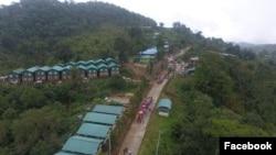 မိုးထိမိုးမိ ေရႊတူးေဖၚေရးလုပ္ငန္းေနရာ NPGPG Gold Mine ( ဓါတ္ပံု- NPGPG Gold Mine's Facebook)