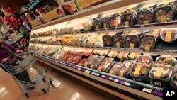 Chương trình Grocery Store Tour giúp ăn uống lành mạnh hơn qua việc hướng dẫn chọn mua thực phẩm đã qua chế biến.