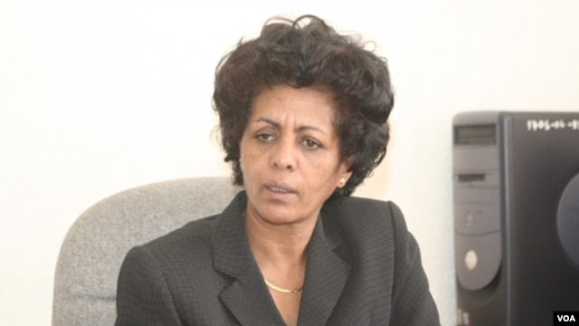 Leul Gebreab is president of the National Union of Eritrean Women
