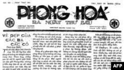 Nhất Linh viết bài cổ võ cho áo dài Lemur (tài liệu của Lê Tuấn Anh, Diễn đàn Sách Xưa, Việt Nam)