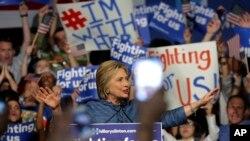 Tanto Hillary como Sanders ganaron 32 delegados de acuerdo a la votación del martes.