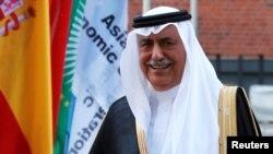 FILE - Saudi Arabia Minister of State Ibrahim Abdulaziz Al-Assaf is seen at the G20 summit in Hamburg, Germany, July 7, 2017.