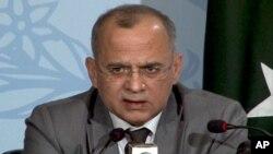 سیکرٹری خارجہ سلمان بشیر