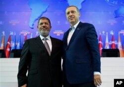 Başbakan Erdoğan, Mısır Devlet Başkanı Muhammed Mursi ile