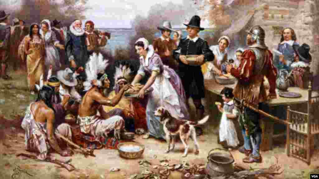 تھینکس گوونگ کا تہوار سترہویں صدی کی ایک اس اہم تقریب کی یاد میں منایا جاتا ہے جس میں امریکہ آنے والےبرطانوی نوآبادکاروں نےاپنی بوئی ہوئی مکئی کی پہلی فصل کی کٹائی کی۔
