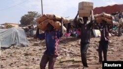 Transportando ajuda humanitária