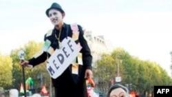 Biểu tình ở Pháp phản đối cải cách hưu bổng