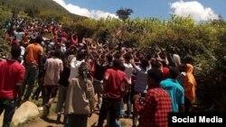 Manifestation oromo.