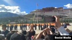 Xi Jinpeng Visit Lhasa