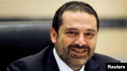 لبنان کے مستعفی ہونے والے وزیر اعظم سعد الحریری۔ فائل فوٹو