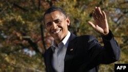 Президент Обама. Белый дом. Вашингтон. 14 ноября 2010 года