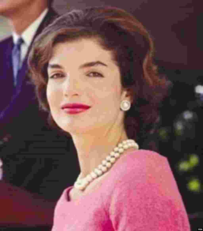 Jackie Kennedy Pink Dress