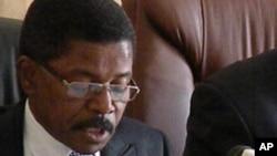 Vice-governador do Namibe, Alcides Gomes Cabral