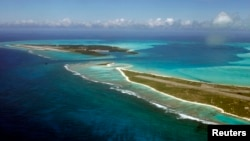 A general view of Midway Island, June 4, 2007.