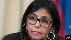 Almagro fue acusado recientemente por la canciller Delcy Rodríguez de alentar la desestabilización de su país.