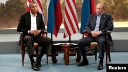 Барак Обама, Владимир Путин (архивное фото)