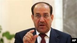 伊拉克總理馬利基(資料圖片)
