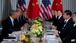 美國總統奧巴馬在加利福尼亞的峰會上曾經提出中國網絡黑客的問題.