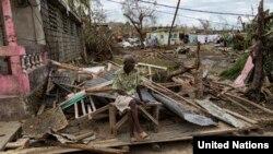 4일 강타한 허리케인 '매튜'로 초토화된 아이티 레스 캐이예스 (Les Cayes) 지역 모습
