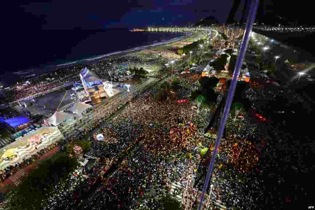 Հռոմի պապ Ֆրանցիսկոսի այցը Բրազիլիա