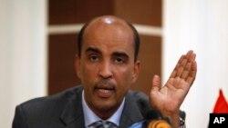Moussa al-Kouni, un des vice-premiers ministres du gouvernement libyen d'union nationale (GNA), à Tripoli, 10 octobre 2011.