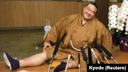 Kisenosato became the newest Yokozuna in Japanese sumo wrestling. He is the first Japanese wrestler to reach the sport's highest level in almost 20 years.