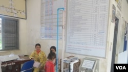 Health workers at Preah Dak health center say they do what they can, but sometimes they run out of medicine or time for their patients.