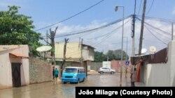 Efeito da chuva em Luanda. Imagen de arquivo (2018)