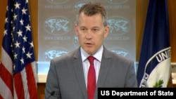 美国国务院新闻办公室主任杰夫·拉特克(图片来源:美国国务院)