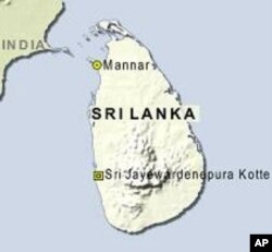 里兰卡港口位置图