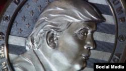 سکه نمادین دونالد ترامپ در روسیه