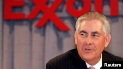 FILE - FILE - US Secretary of State and Former Exxon Chief Executive Officer, Rex W. Tillerson.