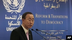 聯合國秘書長潘基文(資料圖片)