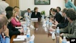 Заседание комиссии USTR