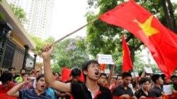 رزمایش دریایی ویتنام در مرزهای آبی با چین