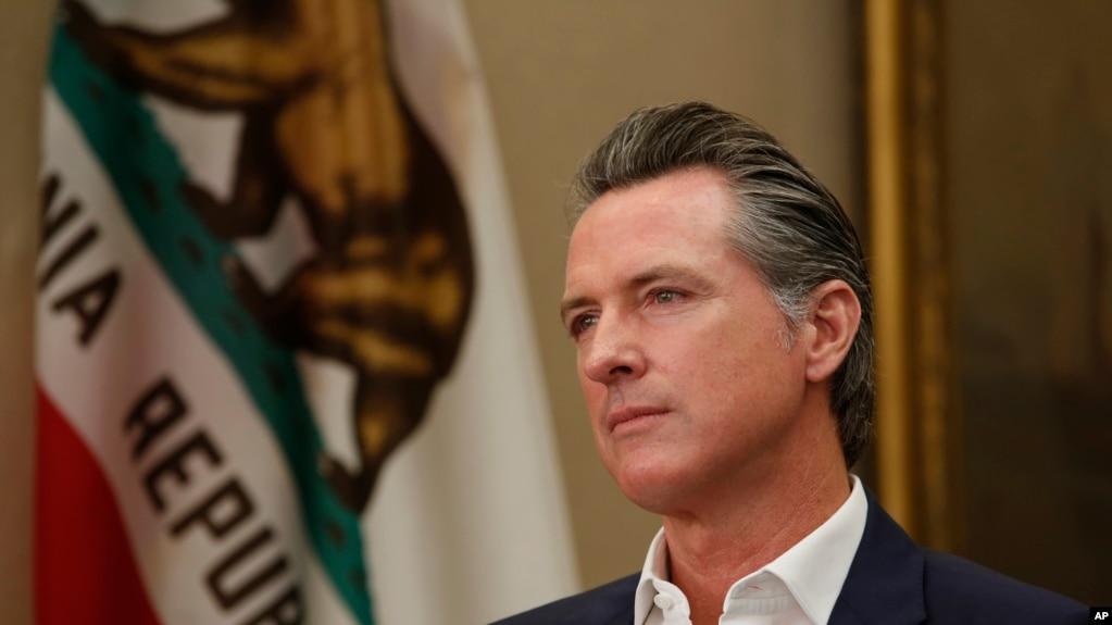 Thống đốc California Gavin Newsom. Ảnh chụp ngày 8/10/2019. (AP Photo/Rich Pedroncelli)