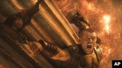 """Sam Worthington as Perseus in """"Clash of the Titans"""""""