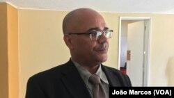 Almerindo de Almeida, director do SIC em Benguela