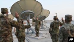 Lực lượng Không gian của Hoa Kỳ ở Trung Đông.
