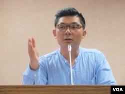 台灣在野黨國民黨立委許毓仁。