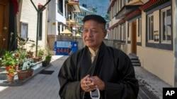西藏流亡政府新當選的司政邊巴次仁(Penpa Tsering)