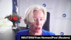 Emer Kuk, direktorka Evropske agencije za lekove (REUTERS/Yves Herman/Pool)
