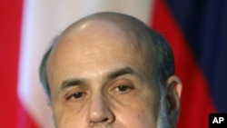 Federal Reserve Chairman Ben Bernanke (file photo)