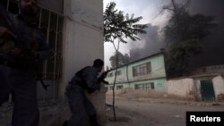 Explosions, Gunfire Hit Center of Afghan Capital