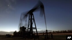 Нефтяная качалка. Гринсбург, Канзас